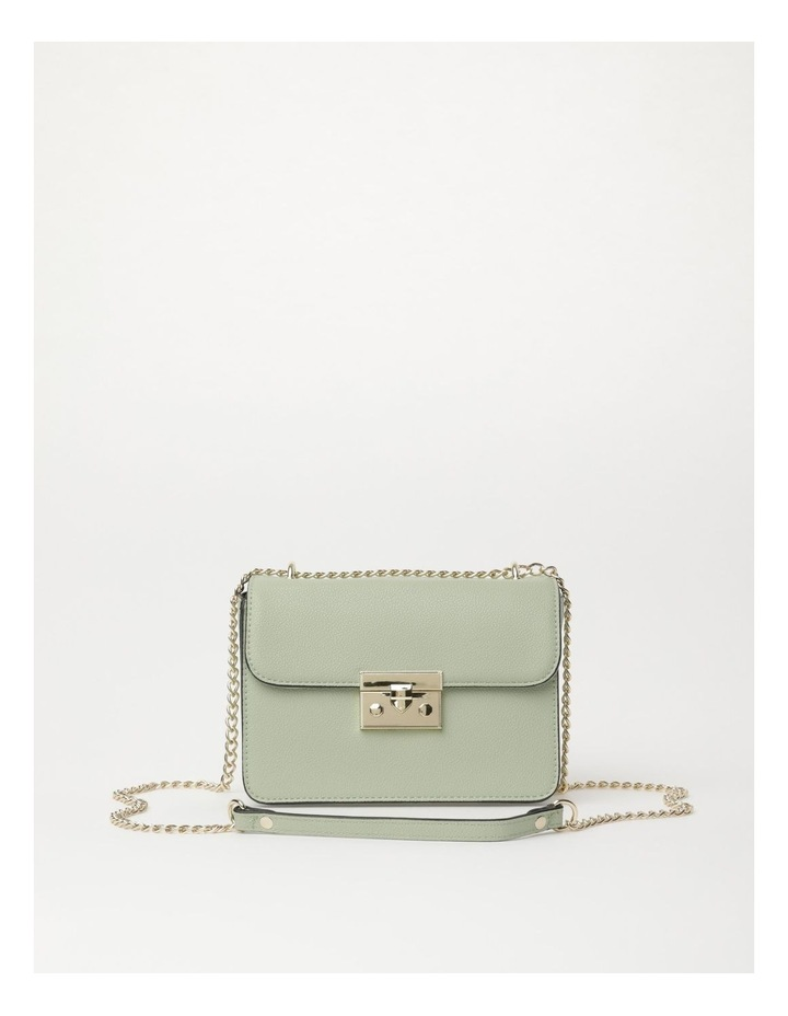 Love Is Mint Flap Over Crossbody Bag image 1