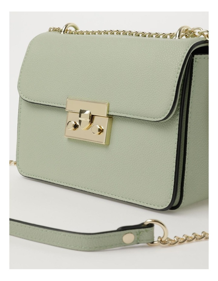 Love Is Mint Flap Over Crossbody Bag image 3