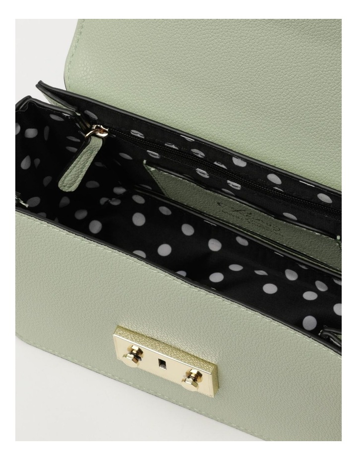 Love Is Mint Flap Over Crossbody Bag image 4