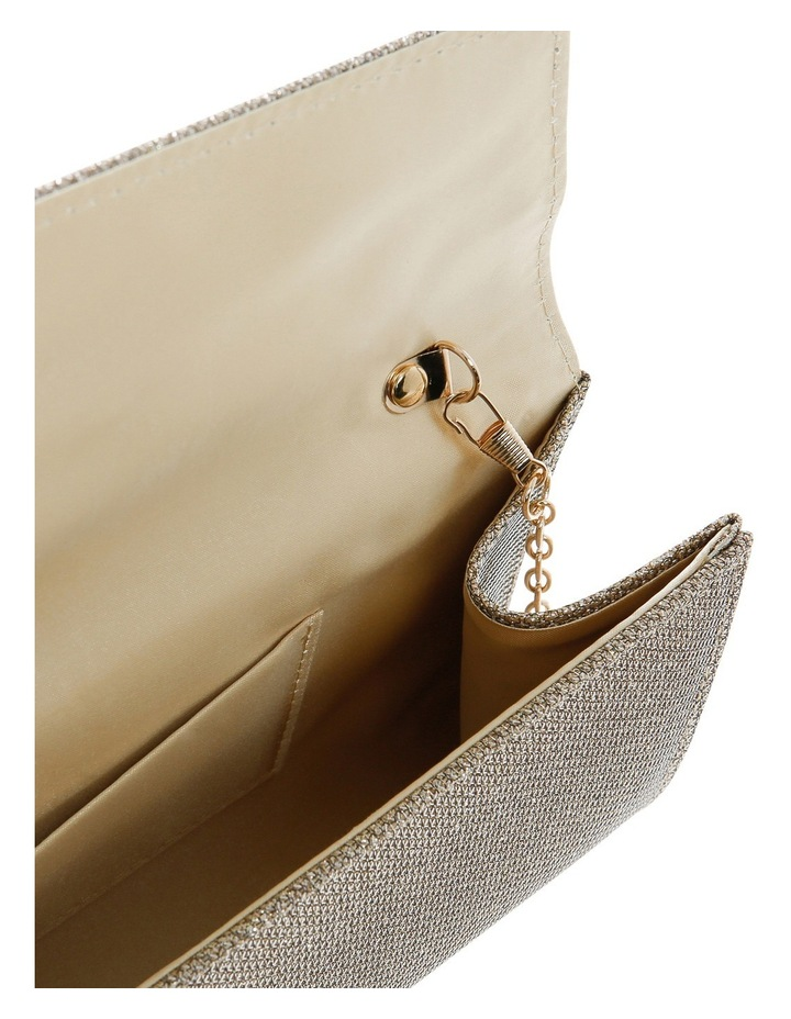 Angled Envelope Flap Over Clutch Bag image 4