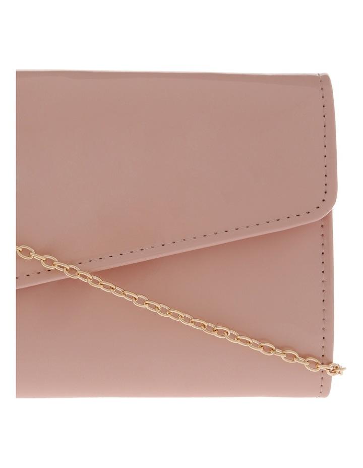 Angled Envelope Flap Over Clutch Bag image 3
