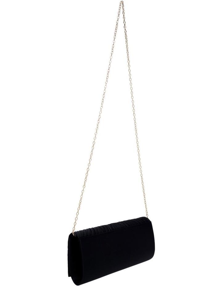 Pleat Satin Clutch Bag image 2