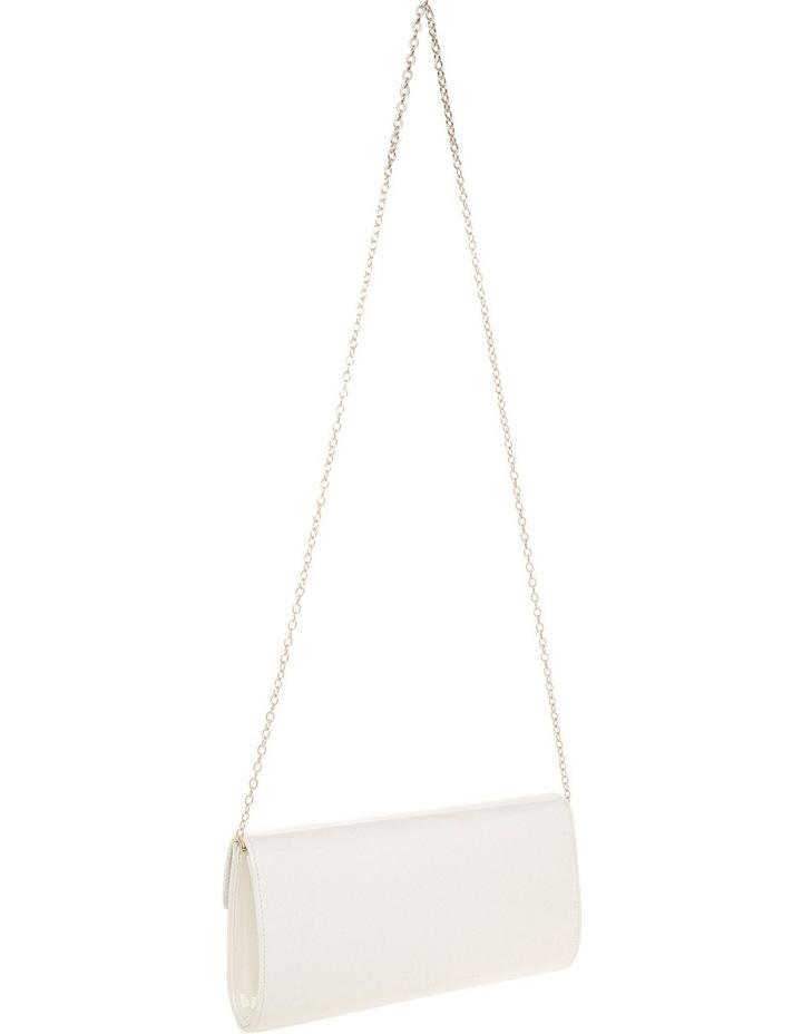 Angled Envelope Flap Over Clutch Bag image 2