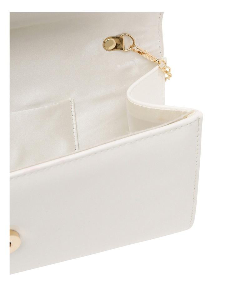 Angled Envelope Flap Over Clutch Bag image 4