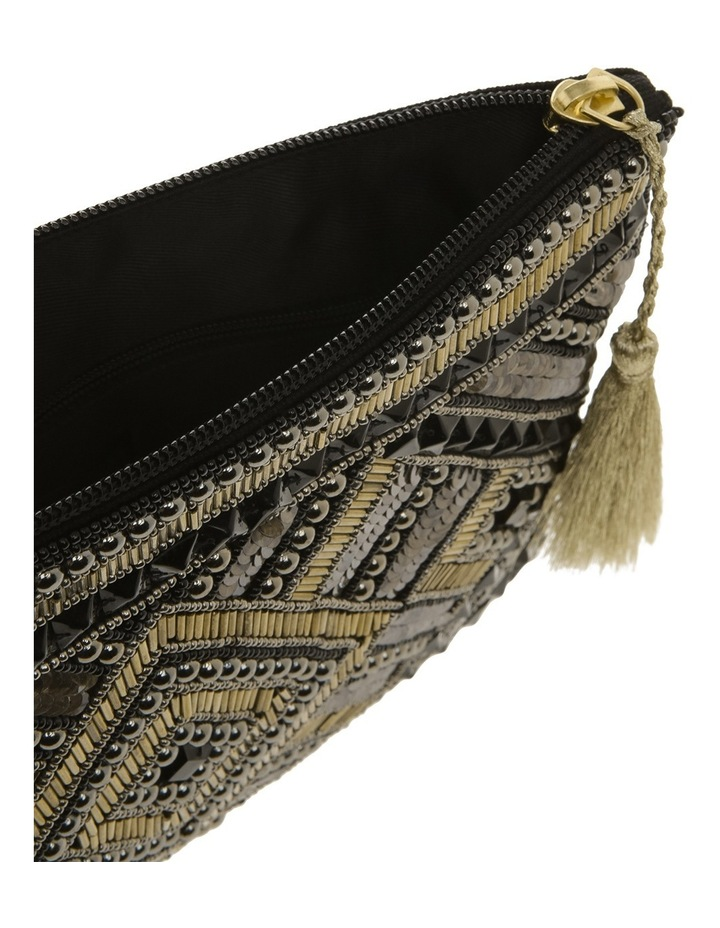 Lyon Zip Top Clutch Bag image 3