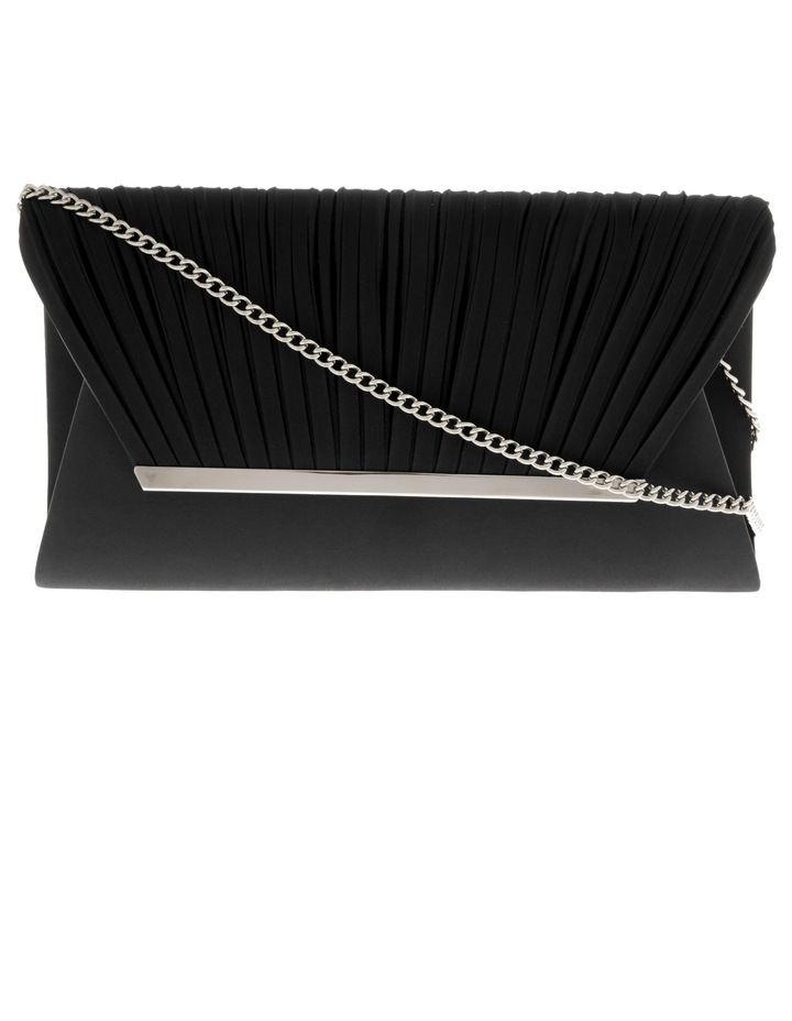 Pleated Flap Over Clutch Bag VM18-484 image 1