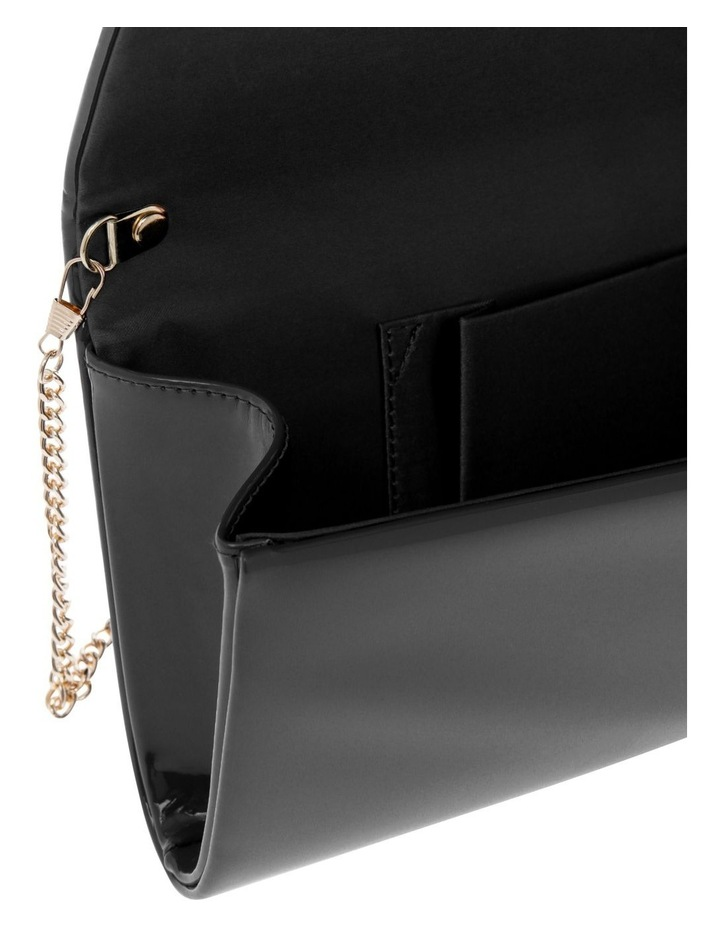Patent Flap Over Clutch Bag VM18 - 385 image 5