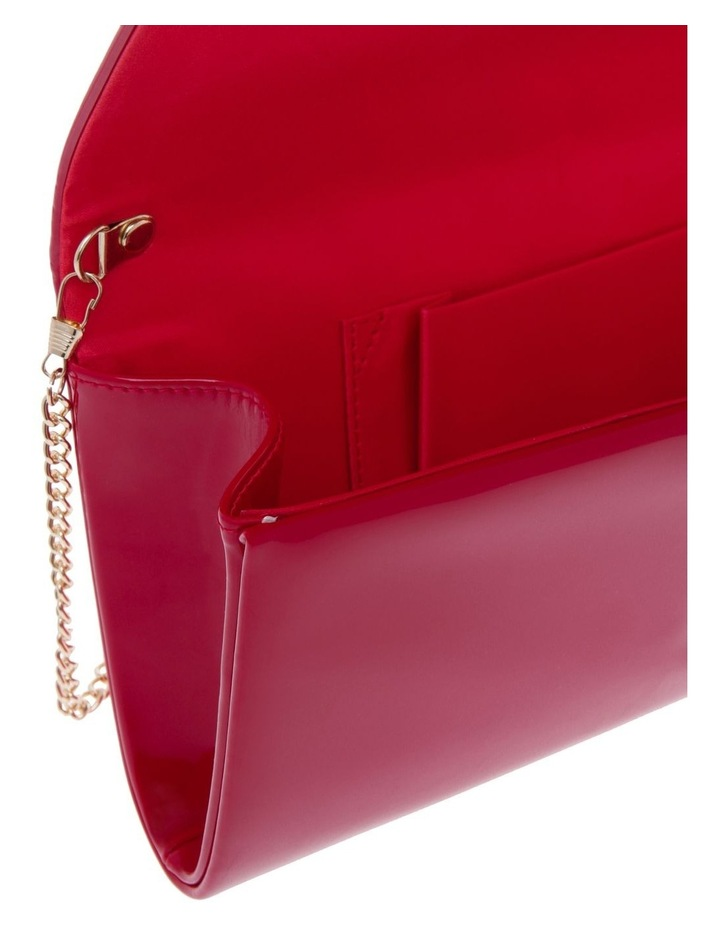 Patent Flap Over Clutch Bag VM18 - 385 image 4