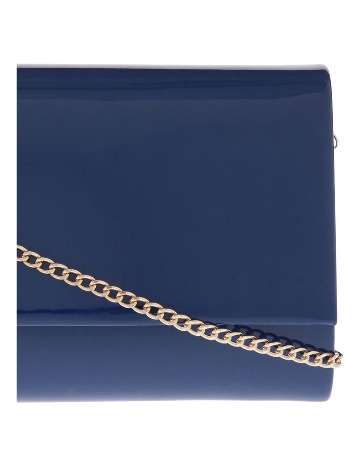 Patent Flap Over Clutch Bag VM18 - 385 P image 3