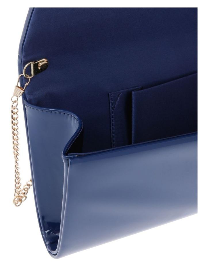 Patent Flap Over Clutch Bag VM18 - 385 P image 4
