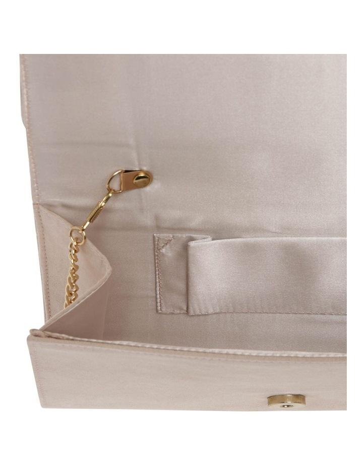 Medusa Suede Flap Over Clutch Bag image 4