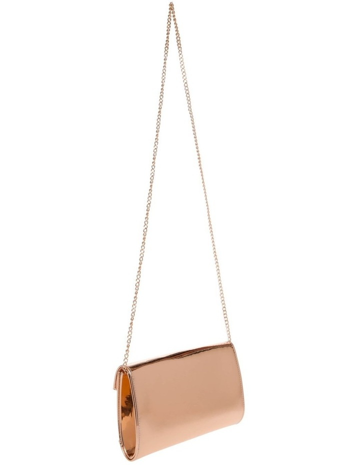 Xena Patent Flap Over Clutch Bag image 2