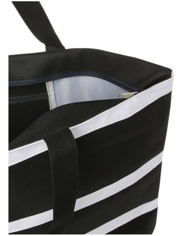 Stripe Double Handle Tote Bag RBL020 image 4