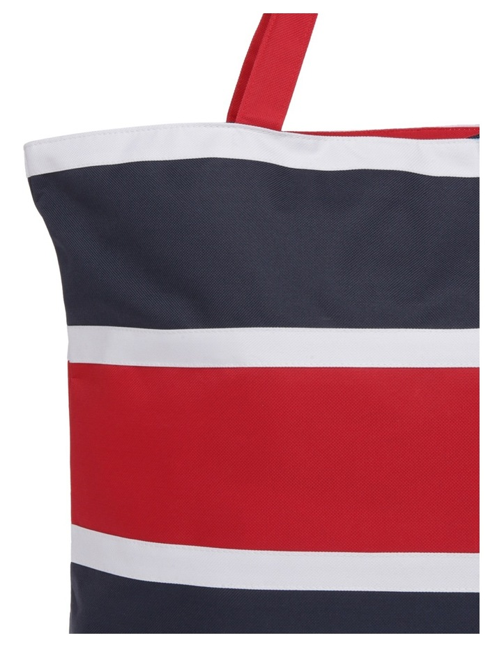 Stripe Double Handle Tote Bag RBL020 image 3