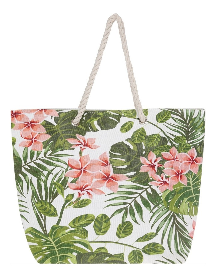 Floral Double Handle Tote Bag RBL030 image 1