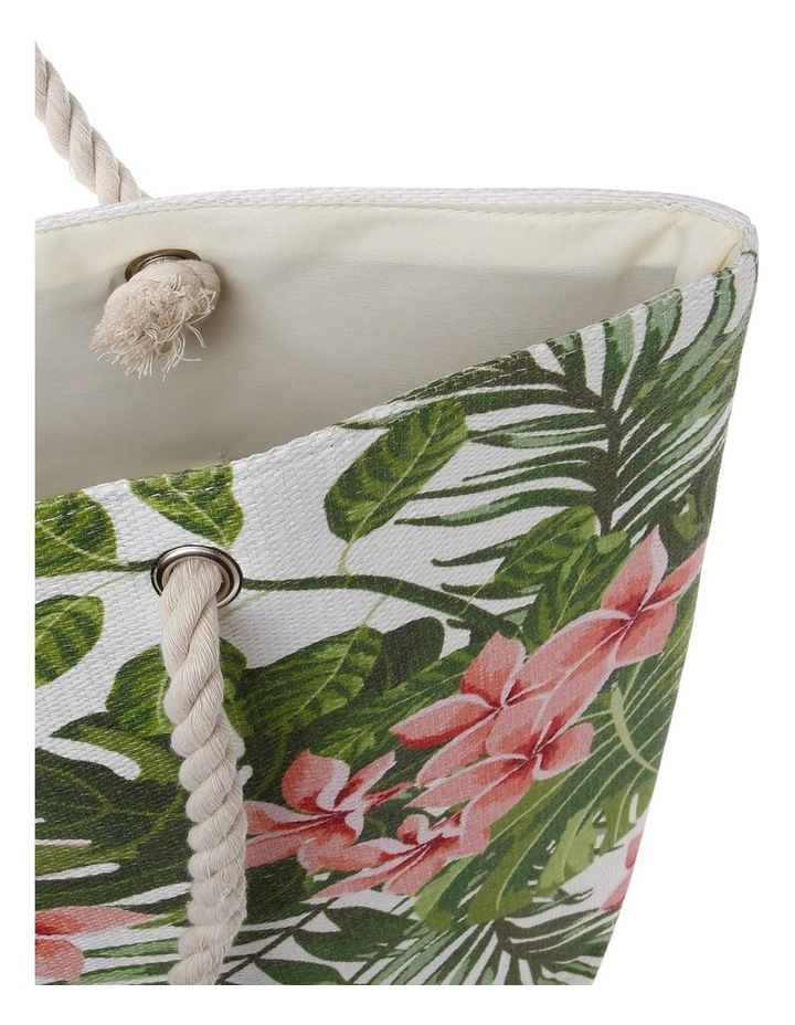 Floral Double Handle Tote Bag RBL030 image 4