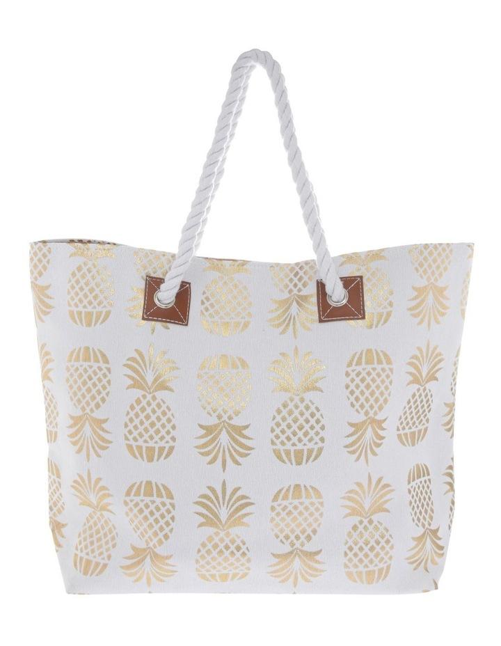 Pineapple Double Handle Tote Bag image 1