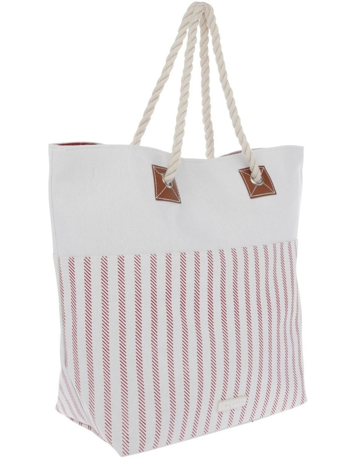 Thin Stripe Double Handle Tote Bag image 2