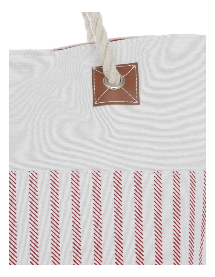 Thin Stripe Double Handle Tote Bag image 3