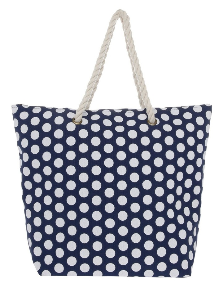 Dot Double Handle Tote Bag image 1