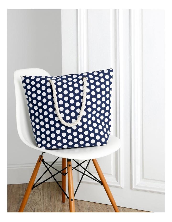 Dot Double Handle Tote Bag image 5