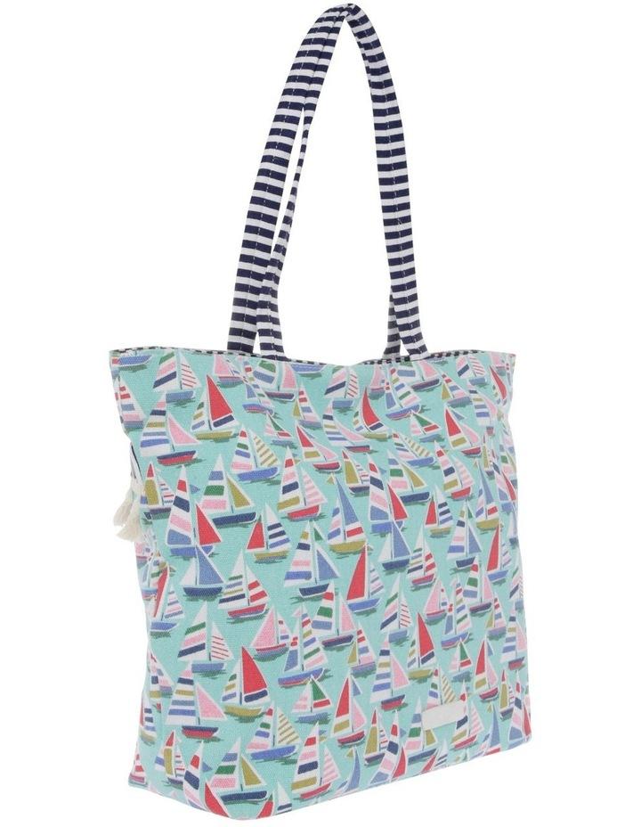 Tassels Double Handle Tote Bag image 2