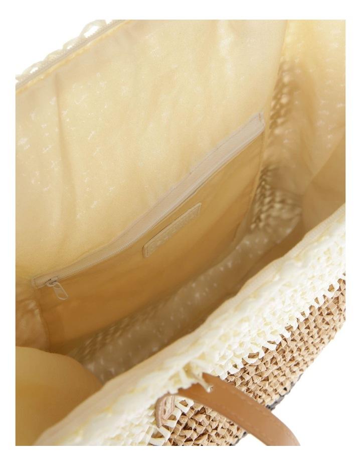 Tri-Tone Double Handle Tote Bag image 4