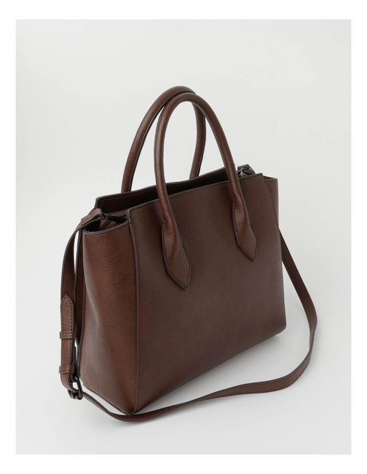 Robyn Chocolate Double-Handle Tote image 2