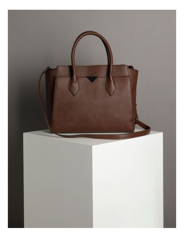 Robyn Chocolate Double-Handle Tote image 5