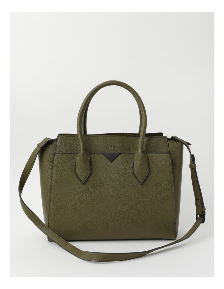 Robyn Olive Double-Handle Tote image 1
