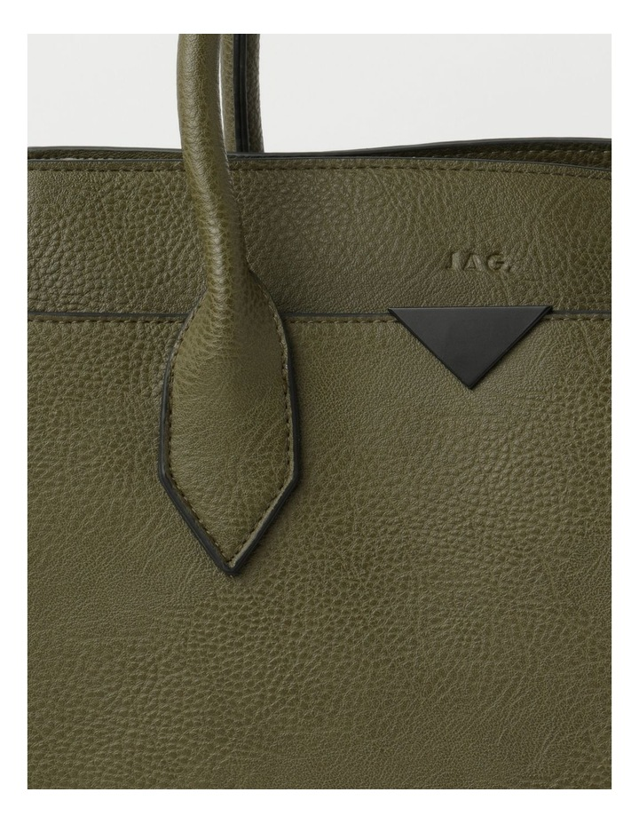 Robyn Olive Double-Handle Tote image 3