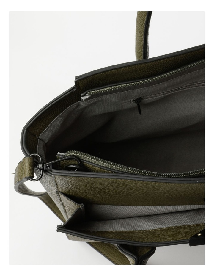 Robyn Olive Double-Handle Tote image 4