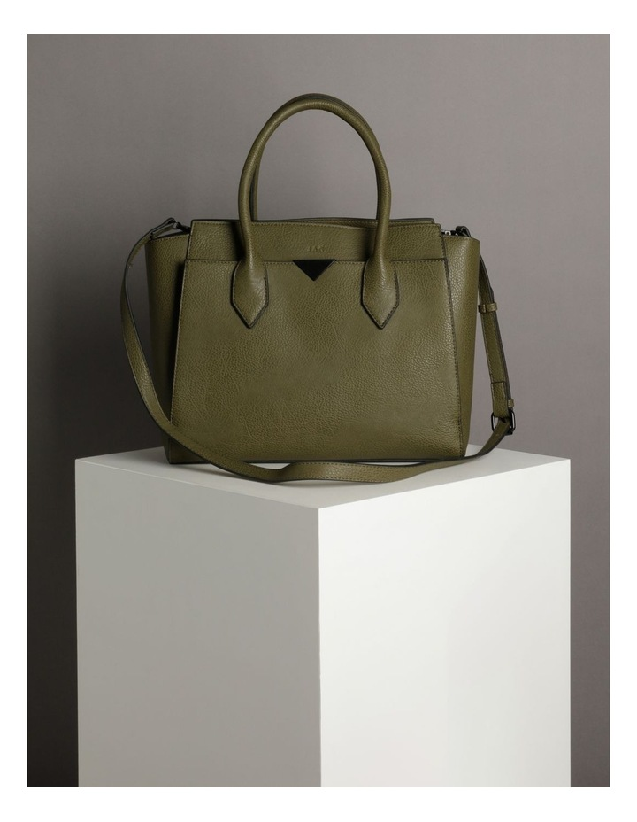 Robyn Olive Double-Handle Tote image 5