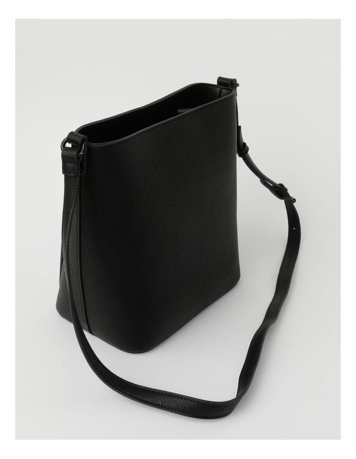 Robyn Black Zip-Top Shoulder Bag image 2