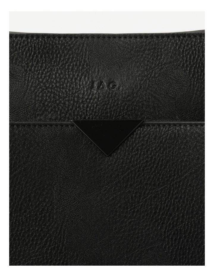 Robyn Black Zip-Top Shoulder Bag image 3