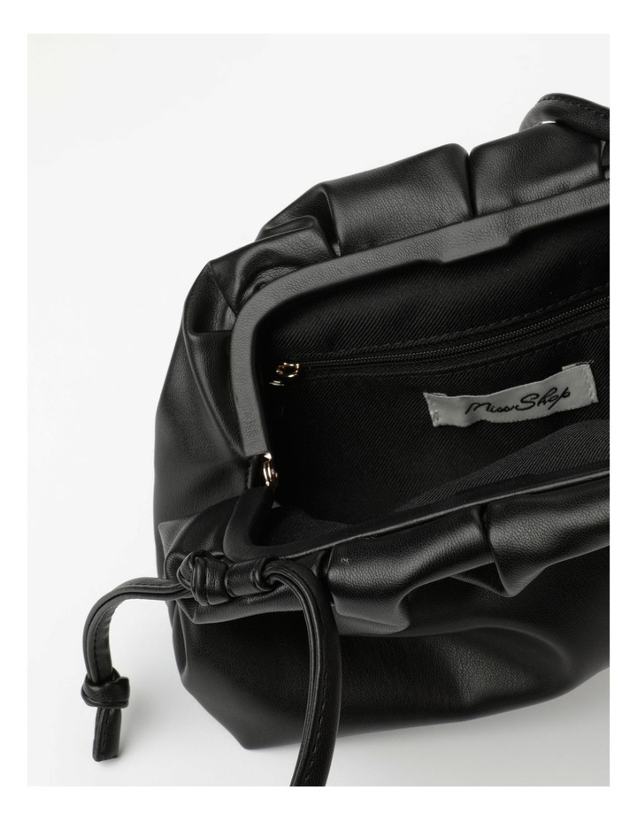 Ruched Clutch Crossbody Bag image 4