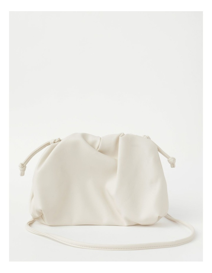 Ruched Clutch Crossbody Bag image 1