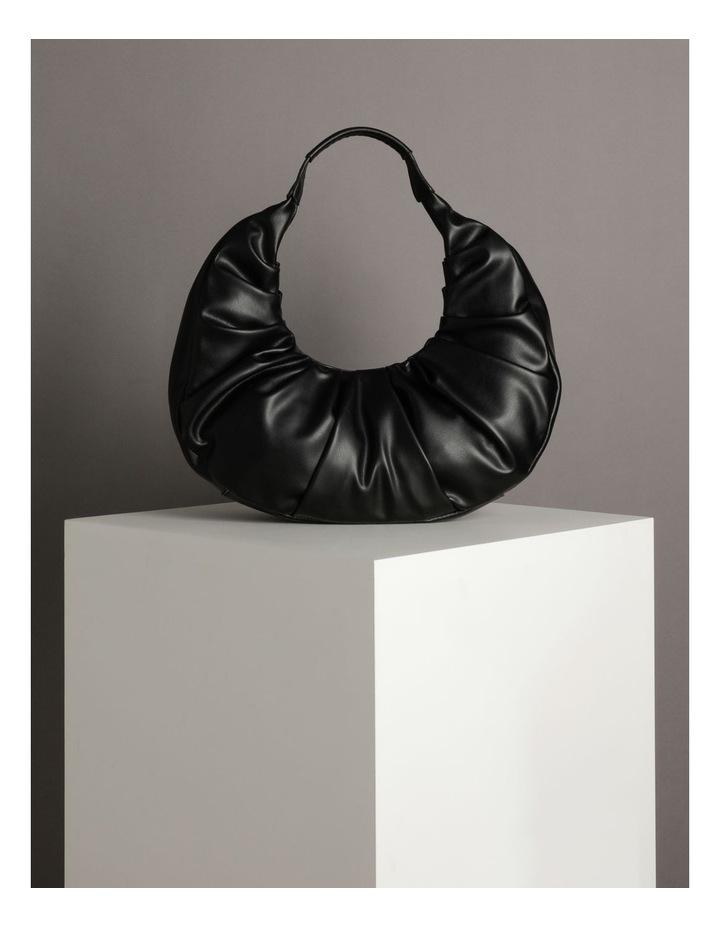 Ruched Curve Shoulder Bag image 5