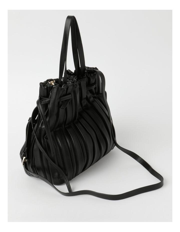 Pleated Drawstring Crossbody Bag image 2