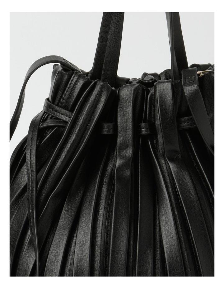 Pleated Drawstring Crossbody Bag image 3