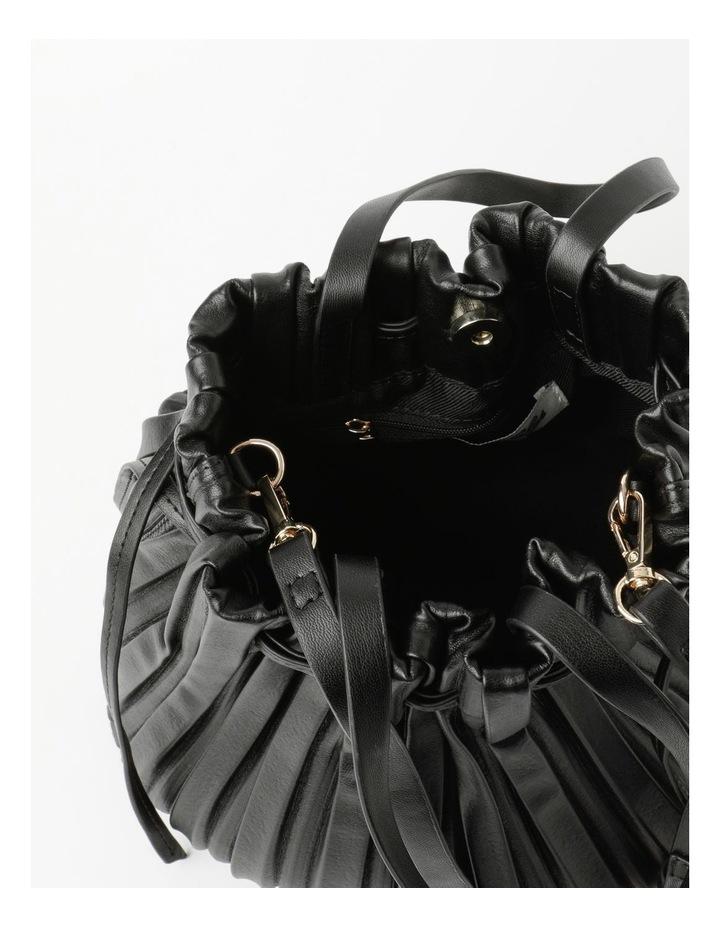 Pleated Drawstring Crossbody Bag image 4