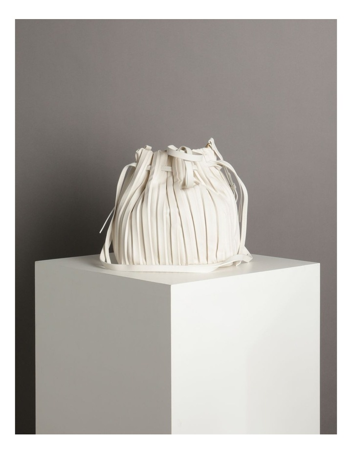 Pleated Drawstring Crossbody Bag image 5