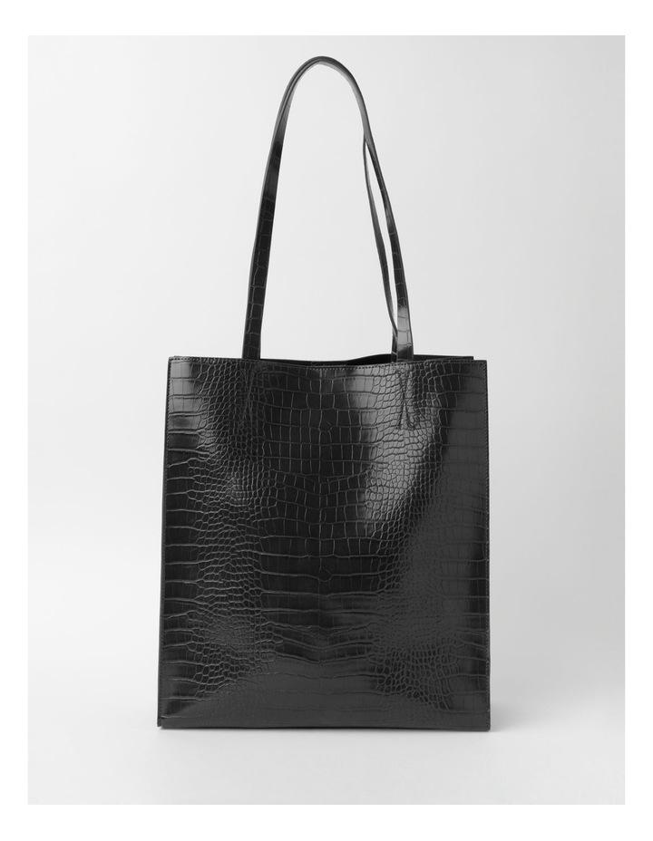 Croc Skin Tote Bag image 1