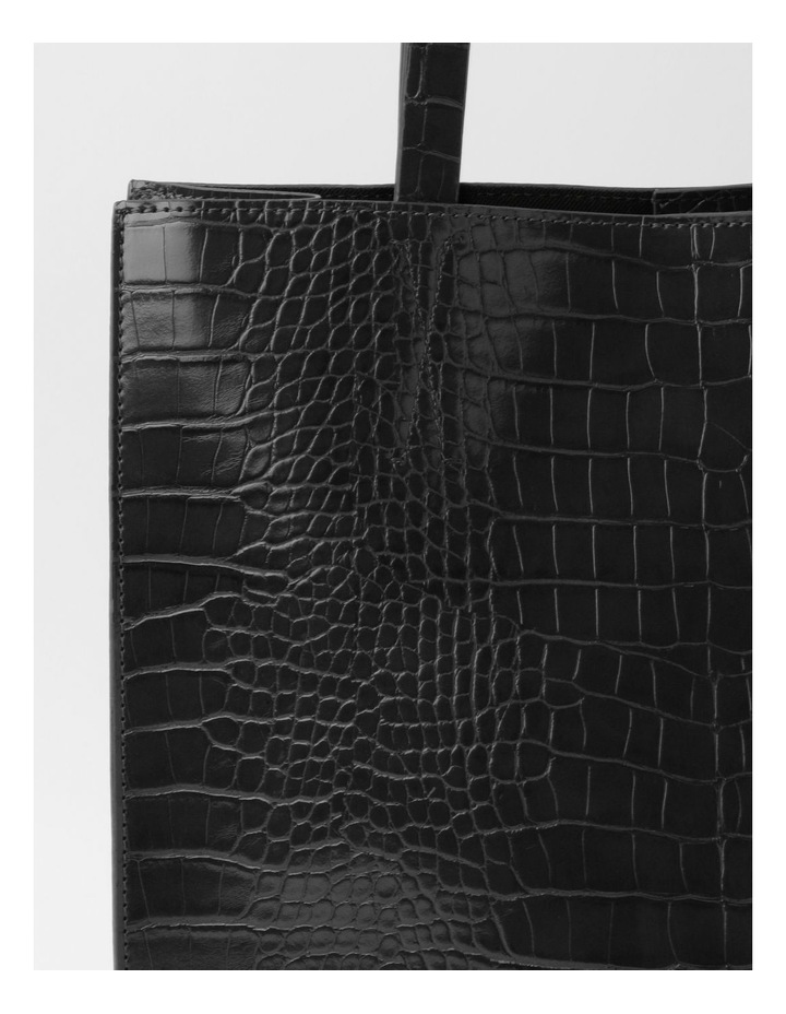 Croc Skin Tote Bag image 3