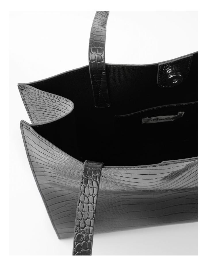 Croc Skin Tote Bag image 4