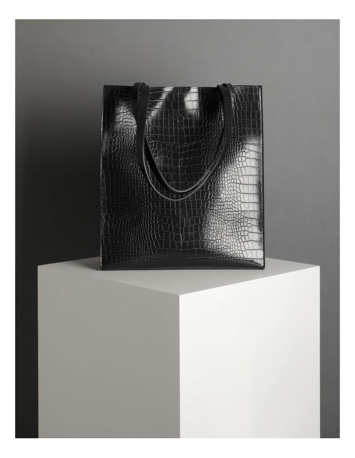 Croc Skin Tote Bag image 5