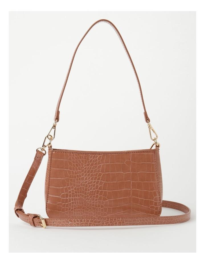 Zip Top Croc Baguette Bag image 1