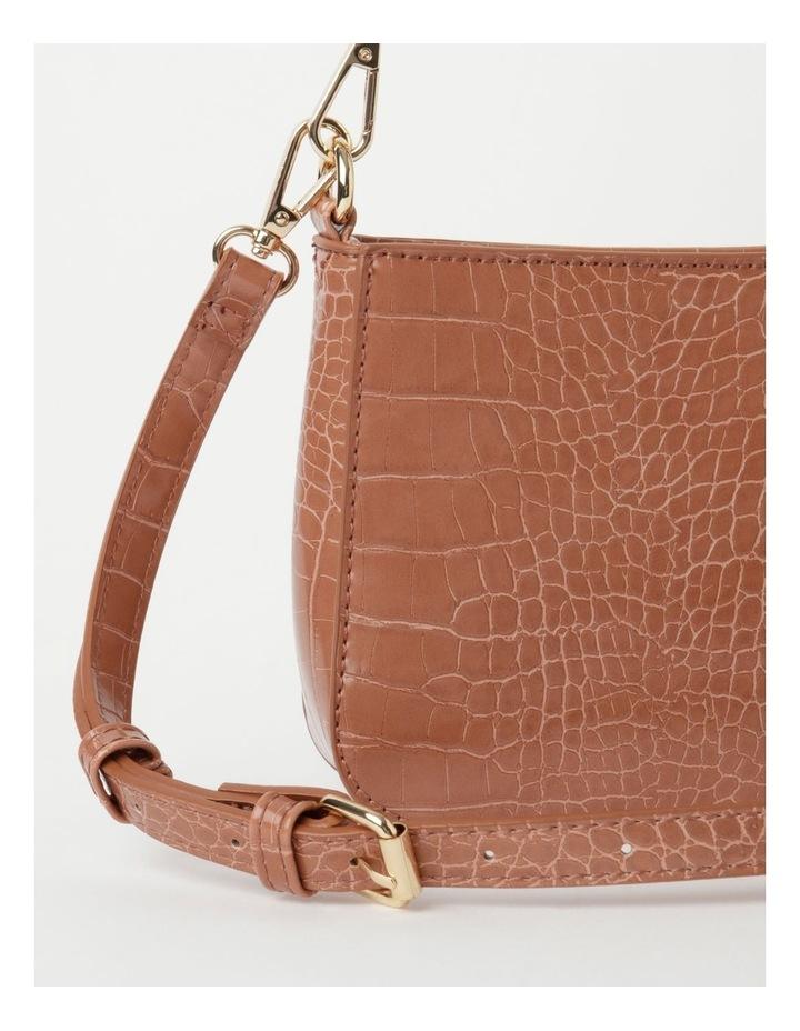 Zip Top Croc Baguette Bag image 3