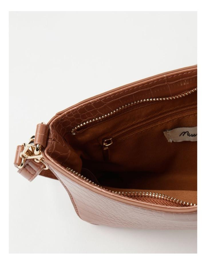 Zip Top Croc Baguette Bag image 4