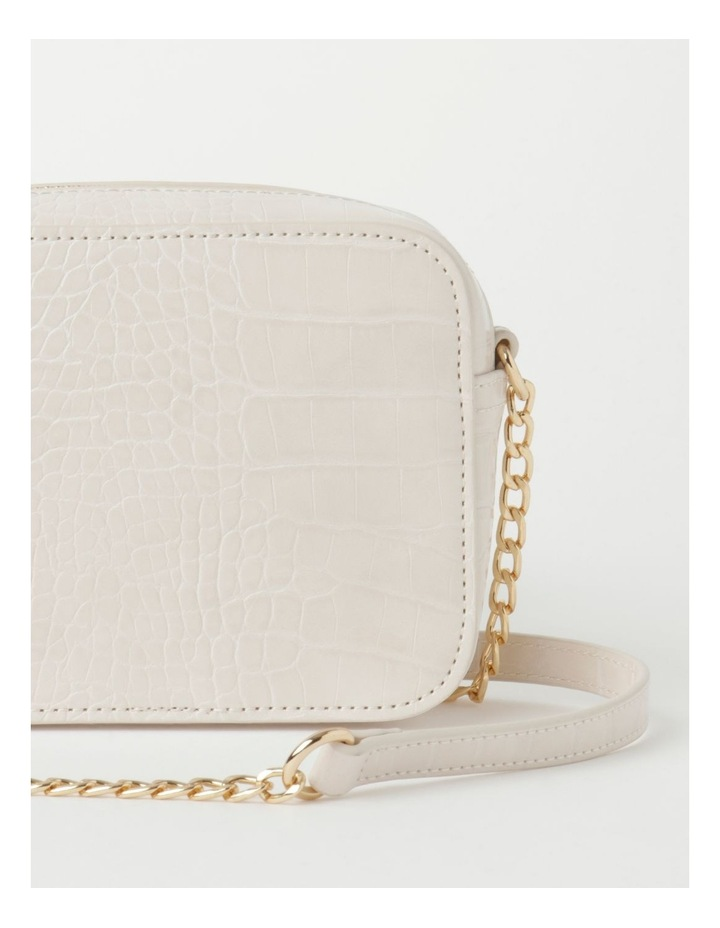 Croc Crossbody Bag With Gold Chain image 3